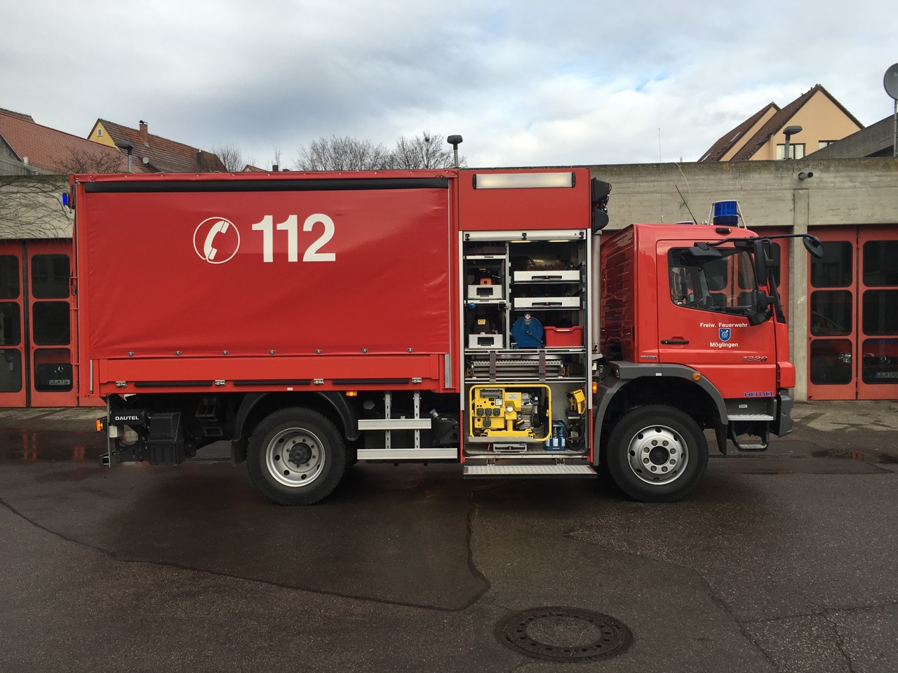 Gerätewagen Logistik (GW-L2) - Feuerwehr Möglingen
