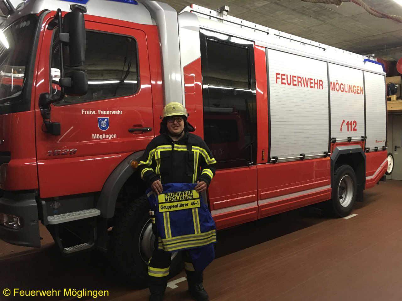 Die Feuerwehr Möglingen gratuliert zum bestandenen Lehrgang. cdd9c6f238