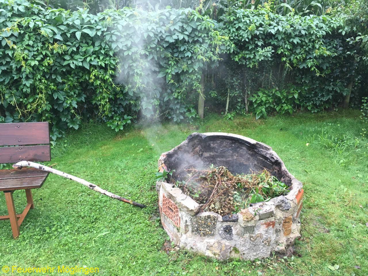 B1 – Feuer/Rauch unklare Lage Freiland