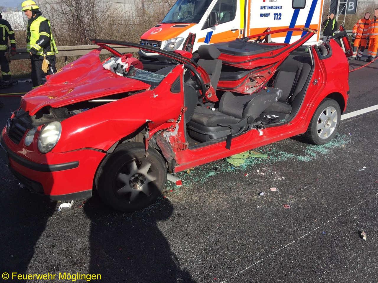 H1 – Personenschaden LKW, BAB A81